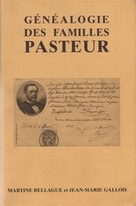 Généalogie des familles Pasteur Couverture du livre
